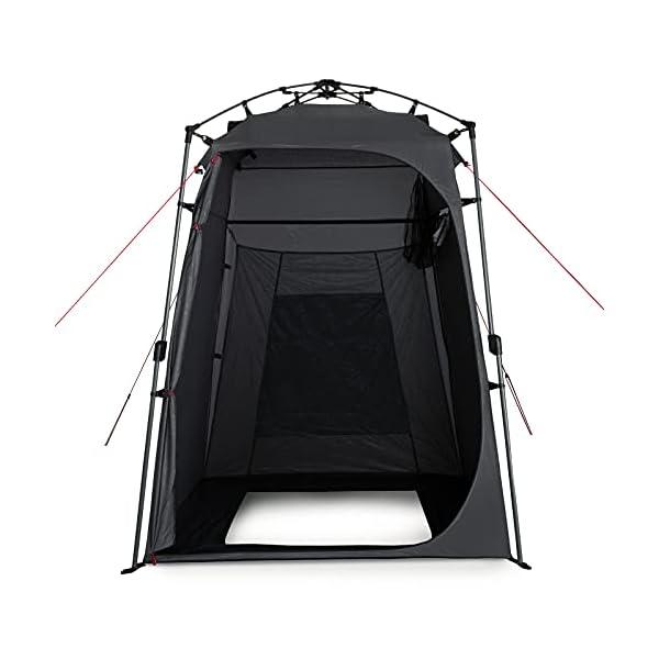 41ZAo%2BqzWwS Qeedo Quick Shower Cabin Camping Duschzelt und Umkleidezelt (Blickdicht) 2m Höhe