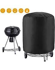Copertura Barbecue GolWof Telo Copri Barbecue Telo Protettivo per BBQ Oxford Impermeabile Protezione UV Antoine Anti-polvere per Barbecue Arrotondato Ø75X70cm