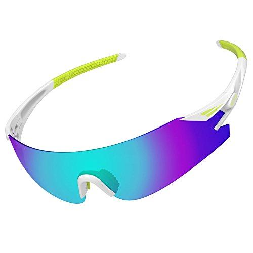 ALKAI Men's Live Wild Sports Polarized Sunglasses, 100% UV Protective, WildKiz Special - Special Sunglasses