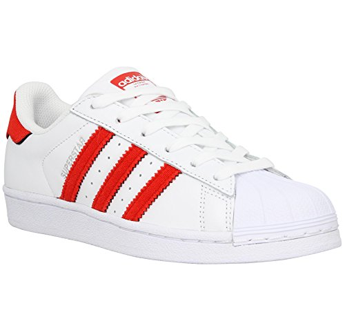 adidas Men's Superstar Running Shoes Blanc (Ftwbla / Rojsol / Rojsol) clearance Cheapest amazon for sale discount view buy cheap cheapest price 2014 newest GpmjFzXyT