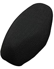 Shkalacar XL Motorcycle Seat Cover, Sunscreen Cool Cushion Protector,Air Cooling Mesh Pad Heat Insulation