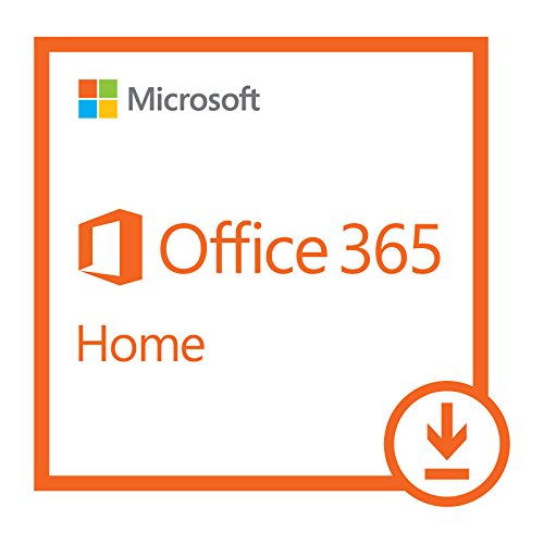 Software : Microsoft Office 365 Home | 1-year subscription, 5 users, PC/Mac Download