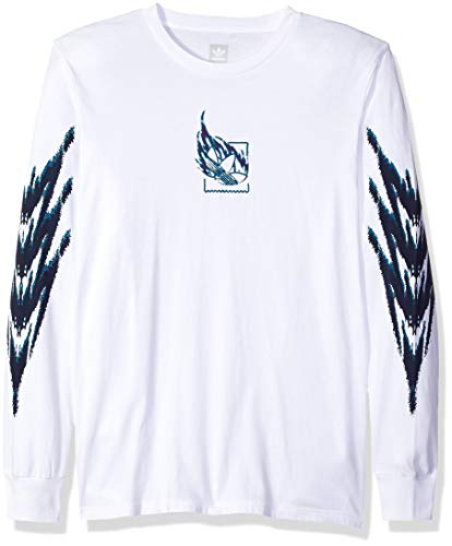 adidas Originals Mens Skateboarding Tennis Long Sleeve Tee