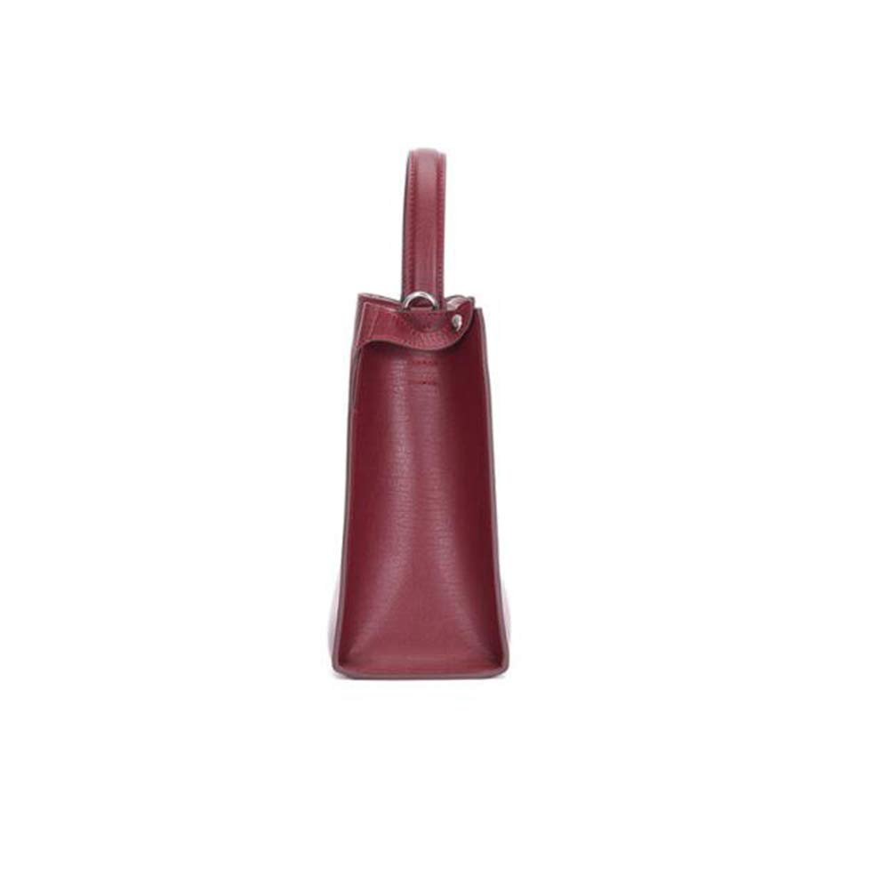 LH-NAUGHTY mini messengerväska mode kvinnor väska bred axel axel crossbody väska, 27 x 11 x 25 cm (L x B x H), tre färger valfritt c