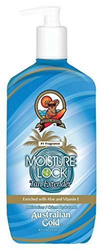 [Australian Gold Moisture Lock Tan Extender 16 oz (Pack of 3)] (Moisture Lock Tan Extender)