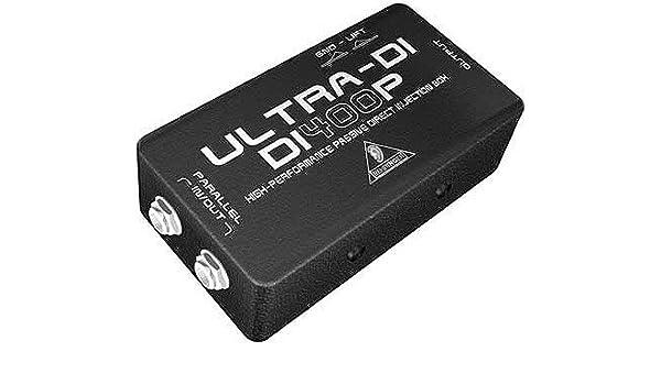 Behringer di400p Passive Trade-Shop directamente Inject Box: Amazon.es: Instrumentos musicales