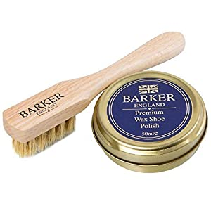 Barker Wax Polish and Application Brush