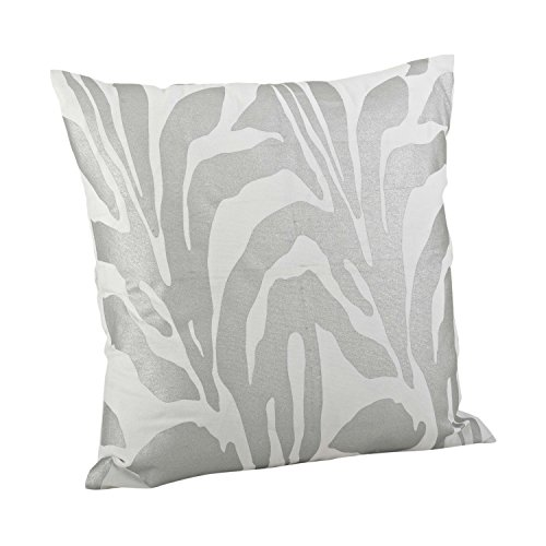 SARO LIFESTYLE 3575 Malawi Pillows, 20 , Silver