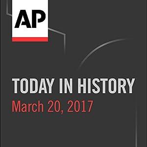 Today in History: March 19, 2017 Radio/TV Program