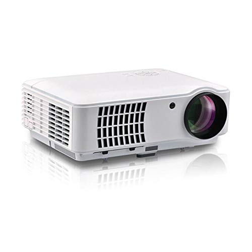 2500 Lumens LED Portable Projector Full HD 1080P 3D Home Theater Projector Beamer 5.8 Inch LCD TFT Display from LLVV Video Projectors