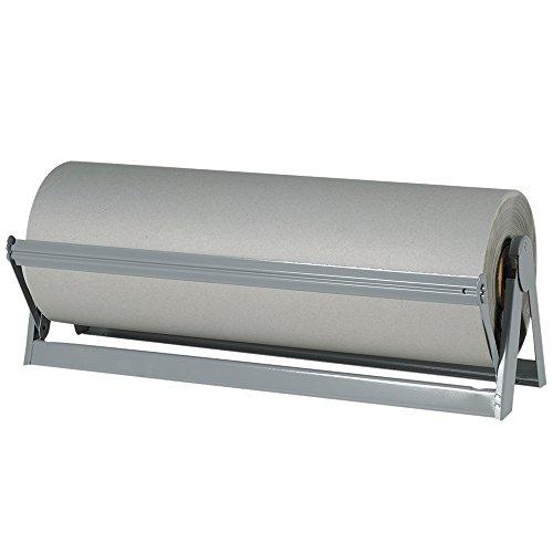 Aviditi KPB2450 Fiber Bogus Kraft Paper Roll, 1080′ Length x 24″ Width,Gray