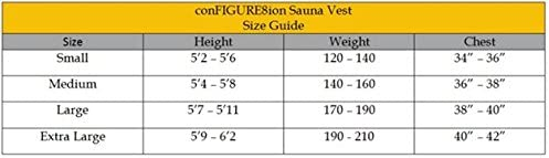 Neoprene Sweat Vest conFIGURE8ion Sauna Vest