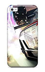 Fashion Protective Ridge Racer Latest Game Case Cover For Iphone 5c