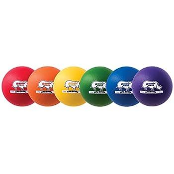 Image of Dodgeballs Champion Sports Rhino Skin Super High Bounce Dodgeballs