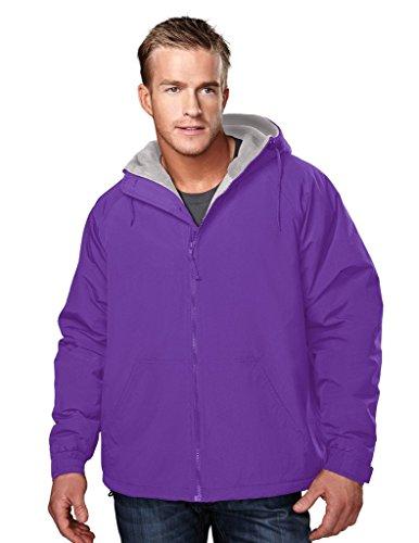 Conqueror Hooded Jacket  Purple Grey  4Xl
