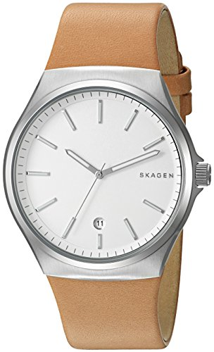 Skagen-Mens-SKW6261-Sundby-Light-Brown-Leather-Watch