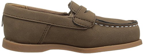 Pictures of Carter's Boys' Simon4 Slip-On Boat Brown 7 M US Toddler 3