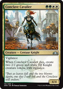 Magic: the Gathering - Conclave Cavalier (161/259) - Guilds of Ravnica