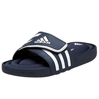 adidas Adissage FitFOAM Sandal (Toddler/Little Kid/Big Kid),Collegiate Navy/Running White/Running White,1 M US Little Kid