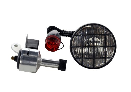 X-Factor 3-Inch Bicycle Generator Light Set
