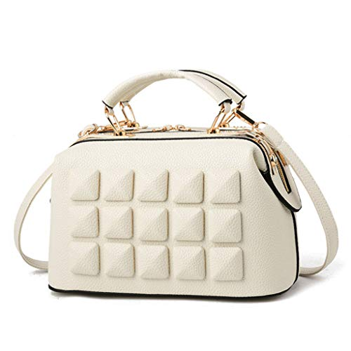 Trois Dimensions Messenger à 28 Couleur Bag bandoulière Sac 17 Blanc Simple 8 Femmes Sac à en 14cm Main Couleurs à Sac Main vOXWIqS