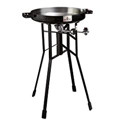 """Nothing beats the smell of sizzling, juicy steaks. Except, of course, steaks and veggies being cooked together on your FireDisc Deep 36"""" Tall Portable Cooker. Thanks to the seasoned effect, the FireDisc's cooking surface actually improves the..."""