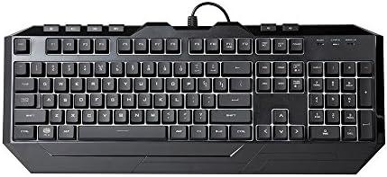 Cooler Master Devastator 3 - Combo de teclado y mouse para juegos, retroiluminación LED de 7 modos de color, teclas multimedia, configuración de 4 DPI 9