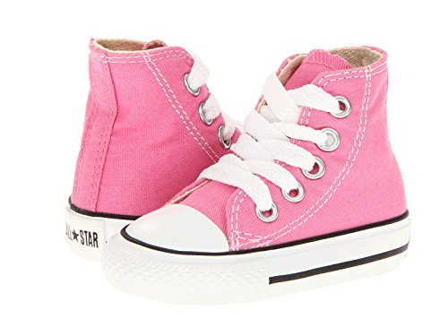 r All Star High Top Infant Shoes Pink 7j234 (6 M US) ()