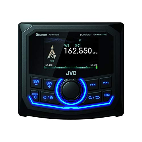 JVC KD-MR1BTS Marine/Motorsports Digital Media Receiver with USB, 2.7