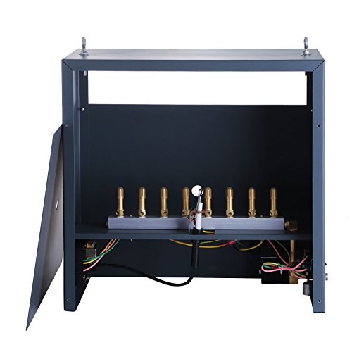 VEVOR Co2 Generator 8 Burner Carbon Dioxide Generator Hydroponic CO2 Electronic Auto Pilot Greenhouse Ignition Liquid Propane LP 14200-22400 BTU (8 Burner) (Lp Co2 Generator)