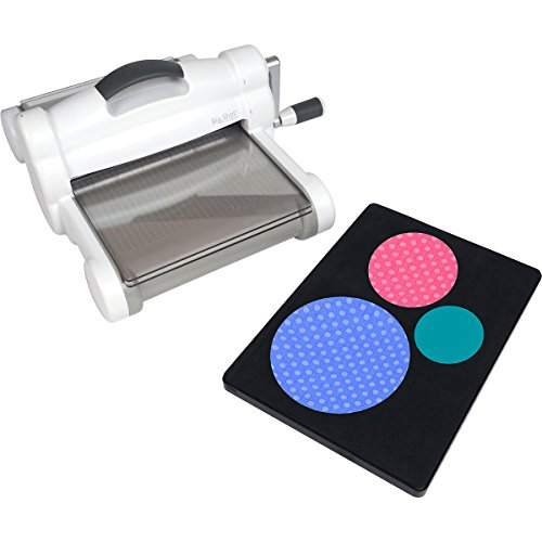 Sizzix Big Shot Plus Fabric Series Starter Kit (White & Gray) by Sizzix