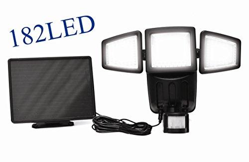1000LUMEN Upgrade Solar Powered Motion Sensor Lights 182S...