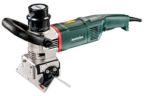 "Metabo KFM 16-15 F Beveling Tool for Weld Preparation 5/8"" Capacity with Rat-Tail and Lock-on"