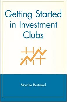 Book Getting Started in Investment Clubs by Bertrand, Marsha (January 16, 2001)