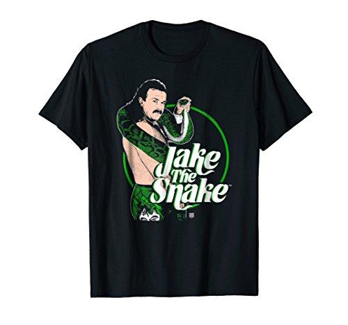 WWE Jake The Snake Roberts with Logo T-shirt