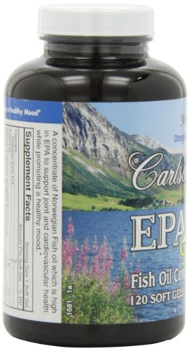 Carlson Epa Gems, 120 Softgels by Carlson (Image #7)