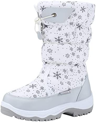 CIOR Women's Snow Boots Winter II Waterproof Fur Lined Frosty Warm Anti-Slip Boot