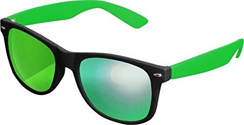 Likoma Soleil MSTRDS Green de Black 4687 Lunettes Kelly Mixte Mehrfarbig Mirror Multicolore drngnxI