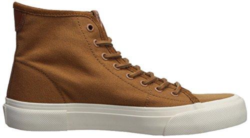 Frye Mens Ludlow High Sneaker Cognac