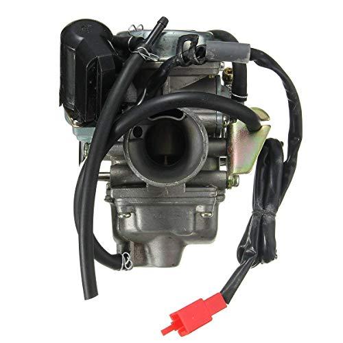Casavidas 24mm Tanque GY6 150cc 150 carburador con colector de admisión Scooter ciclomotor