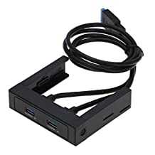 """SEDNA - 3.5"""" Floppy Bay 2 Port USB 3.0 Front panel (20 Pin Connector)"""