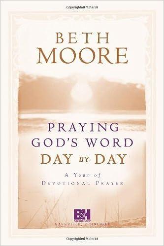 beth moore prayer book