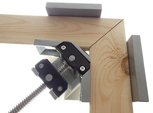 Tech Corner Clamp, Right Angle, 90 Degree, Adjustable Vise, Perfect for Woodworking, Cabinet Framing, Picture Frame, Aquarium, Workshop by Tech (Image #2)
