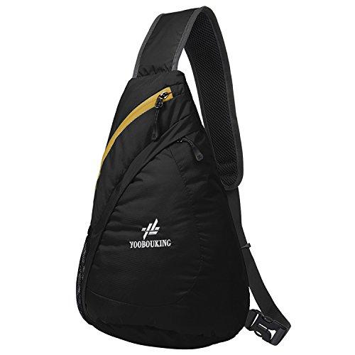 Coreal Short Trip Lightweight Adjustable Strap Shoulder Cross Body Backpack Bag