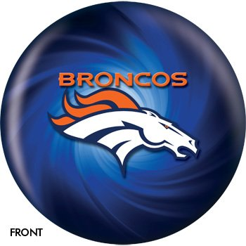 KR Strikeforce NFL Denver Broncos Bowling Ball 10lb ()