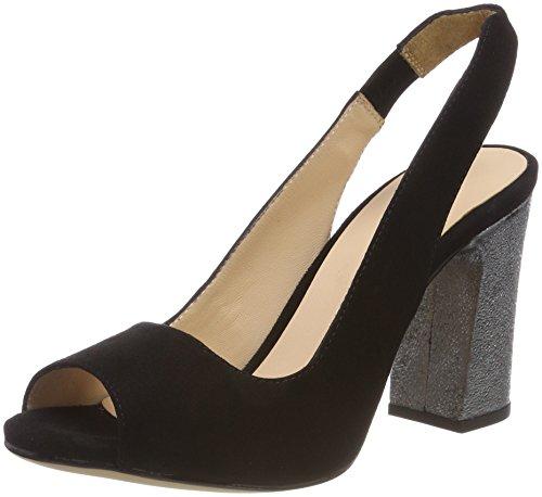 Women's se Unisa steel ks Walt Multicolor Open Toe Sandals blk daqZwqA