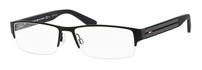 b90a5feb0adb6 Image Unavailable. Image not available for. Color  Tommy Hilfiger 1236  Eyeglasses-094X ...