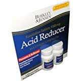 Berkley and Jensen Acid Reducer Maximum Strength Ranitidine Tablets 150 mg 95 Tablets Per Bottle (Pack of 2)