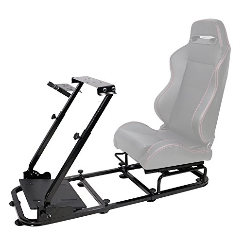 Racing Seat Brackets Universal Fitment | Black Steel Gaming Chair Cockpit  Assembly Playseat Driving Simulator By