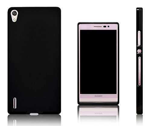 Xcessor Vapour Flexible TPU Gel Case for Huawei Ascend P7 - Black